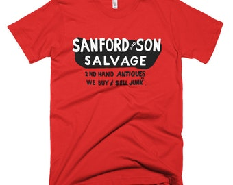 Sanford and Son Salvage Junk Tshirt