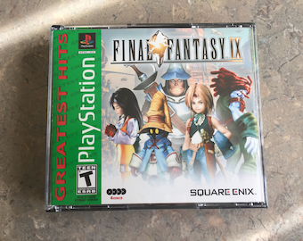 Final Fantasy IX 9 Playstation 1 ps1