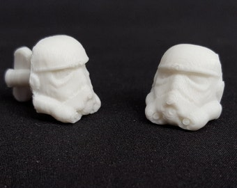 Star Wars Inspired Storm Trooper Cuff Links