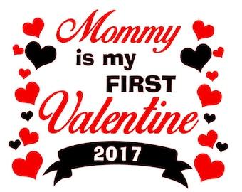 First Valentines SVG File
