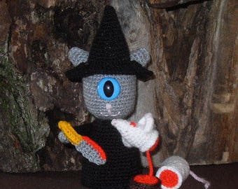 The Cyclop Witch, a white mouse sacrifice