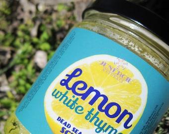Lemon Thyme Dead Sea Salt Scrub