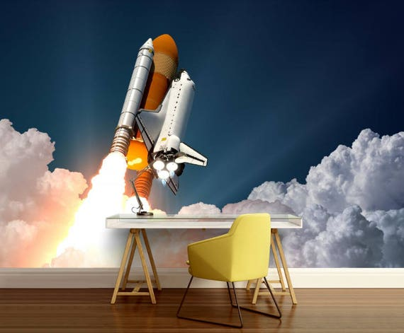 space shuttle wallpaper space shuttle wall mural space