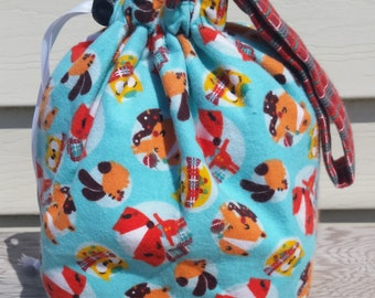 Forest Critters Sock Sack
