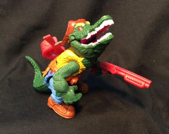 Playmates TMNT Leather Head loose/complete - 1989