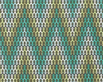 CLEARANCE - Chipper by Tula Pink - Mint The Wanderer - Fabric by the yard