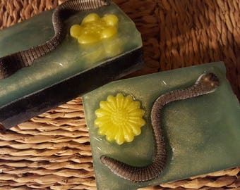 Squirmy Spring Worm Soap