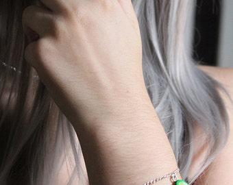 Avocado Bracelet Charm Bracelet