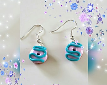 Delicious donuts earrings