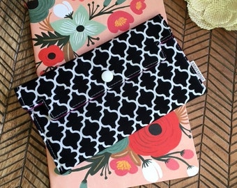 Coupon Holder Quatrefoil - Wallet - Receipt Holder - Phone Case - Jewelry Pouch - Gift For Mom - Birthday Gift For Her - Christmas Gift