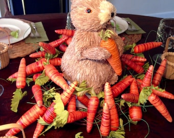 Carrot & Bunny Easter Centerpiece
