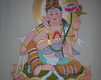 Fortune Buddhist goddess of Mercy Bodhisattva