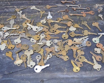 Skeleton Keys Collection - Vintage Locks and Keys