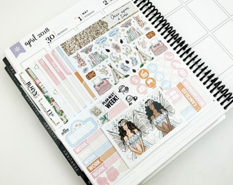 Once Upon A Time // Ultimate Weekly Planner Kit (Glossy Planner Stickers)