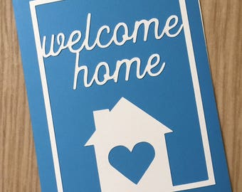 Greeting Card / Note Card - Welcome Home