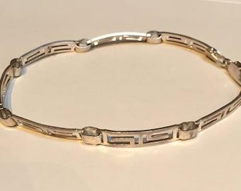 Sterling Silver Link Bracelet - Mexico