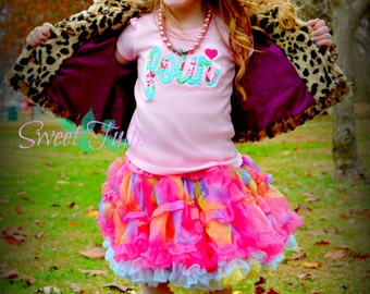 First Birthday Shirt - First Birthday Outfit - Girls First Birthday Outfit - Shabby Chic Birthday