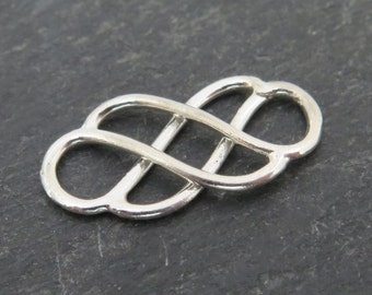 Sterling Silver Celtic Connector 19mm