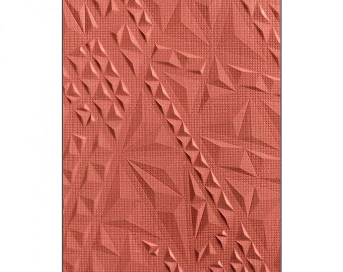 Sizzix 3-D Textured Impressions Embossing Folder - Geometric by Lindsey Serata 661258