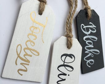 Custom Name Tags | Personalized Easter Tag | Personalized Gift Tag | Bridesmaid Gift Tag | Easter Basket Tag | Easter Gift Tags | Easter