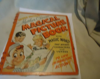 Vintage Simple Simon's Mother Goose Magical Picture Book, collectable
