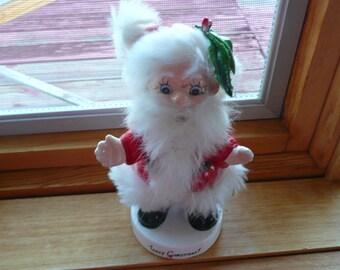 6 in Vintage Santa