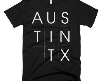 Austin Texas Tie-tac-toe T-shirt