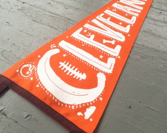 Cleveland, Ohio Felt Pennant (Big Dog Edition)