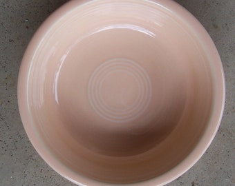 """Fiesta Fiestaware Coupe Cereal Bowl 7"""" Apricot Retired"""