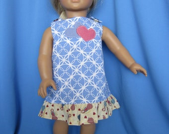 American Girl Summer Dress for Julie and all 18-inch Dolls