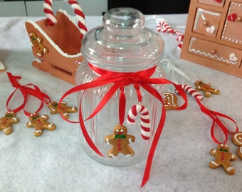 Snowman candy gingerbread and sugar candy