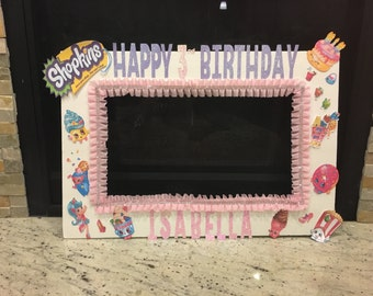 Shopkins Photo Booth Prop