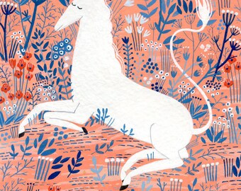 Unicorn (print)