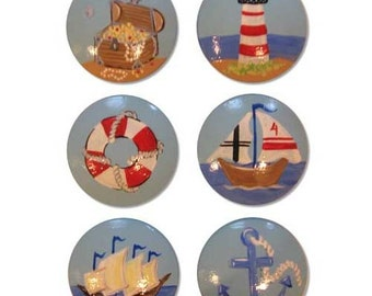 Boys Nautical Drawer Knobs