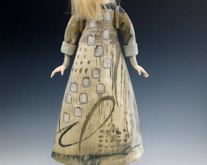 CR950E - Pockets Full of Miracles, Cloth Art Doll Sewing Pattern/E-class (PDF Download)