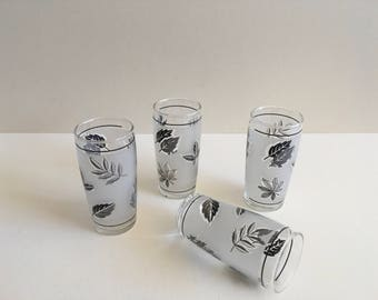 Vintage Juice Glasses, Libby Glass.