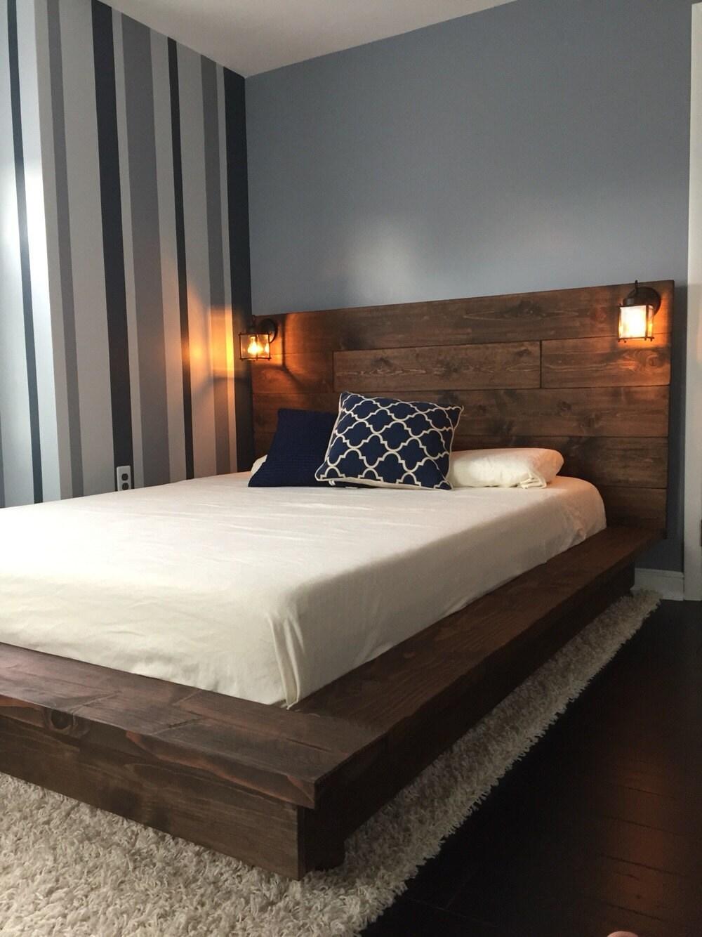 zoom - Wooden Platform Bed Frames