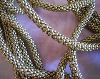Unusual Vintage Brass Chain