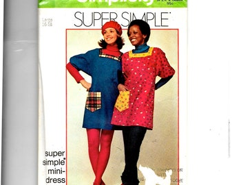 Simplicity Misses' Mini Dress or Smock Pattern 5272