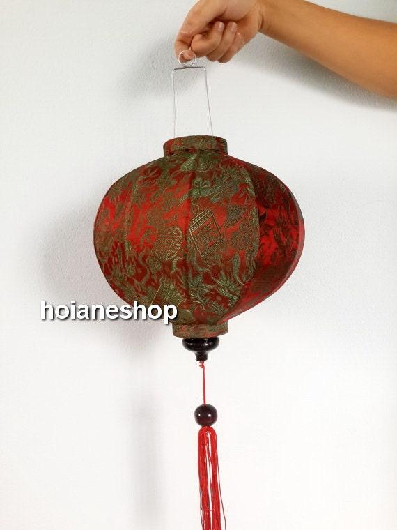 Set 4 vietnam hoi an silk lanterns wedding decoration junglespirit Gallery