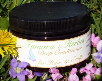 All Natural Deep Conditioner for Hair and Scalp