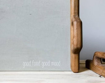 Breakfast tray handmade minimalist decor grey serving tray wooden tray gift ideas  coffee tray wedding gift gift for her ottoman tray