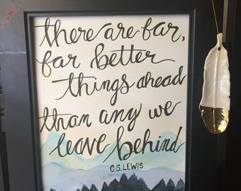 C.S. Lewis Quote Print