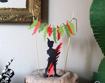 Peter Pan Cake Topper Set
