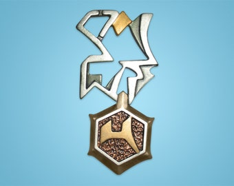 Star Trek Klingon ORDER of KANG Resin Prop Pin