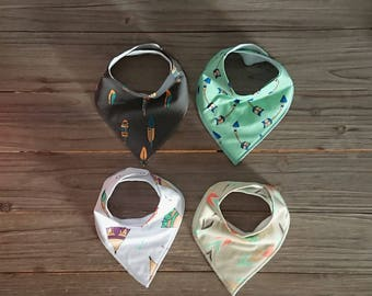 Baby Bib - Bandana Bib - Teething Bib - Dribble Bibs - Drool Bib – Baby Bib Set - Baby Shower Gift Set