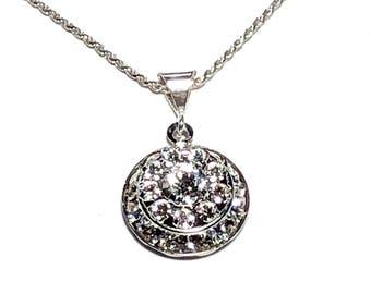 Swarovski Birthstone Necklace Diamond Birthstone Necklace April Mom/Wife Birthday Gifts Birthstone Jewelry