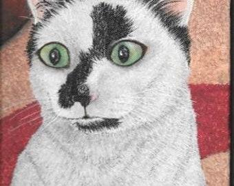 Custom Pet Portrait Acrylic on Canvas