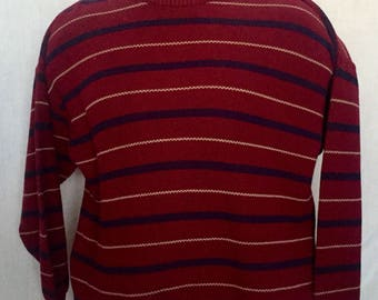 Lord Jeff stripped sweater L