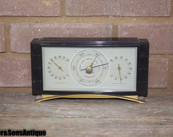 Art Deco Airguide Barometer!! COME L@@@K